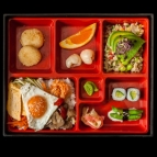 Bento 2 with Miso soup