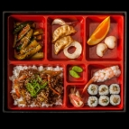 Bento 3 with Miso soup
