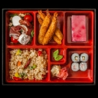 Bento 4 with Miso soup