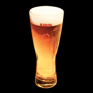 Kirin Japanese draft beer